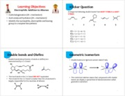 10 Electrophilic Addition to Alkenes - 4 per page