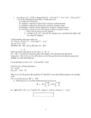HW2 -2011 solutions