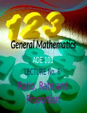 ADE Lecture---6