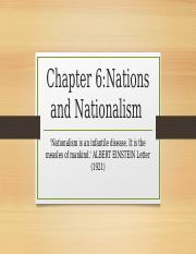 Chapter 6 Nations and Nationalism.pptx