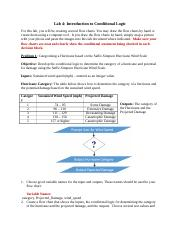Lab 4 Introduction to Conditional Logic.docx