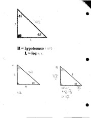 Solving Equations with Triangles