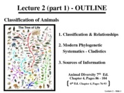 Lecture 2 - Classification_Architecture - 150915