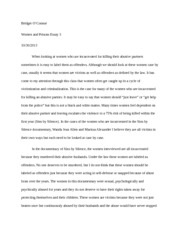 women and prisons essay 3