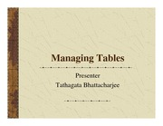 10-Managing Tables
