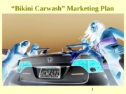 Bikini Carwash Marketing Plan