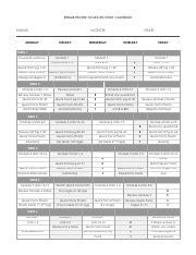 Remar Online Academy Rn Nclex Study Calendar Pdf Remar Review Nclex Rn Study Calendar Name Month Monday Tuesday Year Wednesday Thursday Friday Week 1 Course Hero