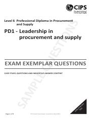 PD1_Leadership_Case Study_Questions and Answers