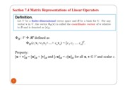 Matix representation for linear operators.pdf
