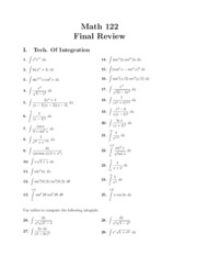 Math122FinalReview