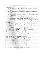 ECE361 Trans Lines hand notes
