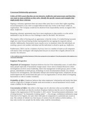 consensual relationship agreement Are consensual relationship agreements a solution to sexual harassment in  the workplace alison j chen jonathan a sambur follow this and additional.