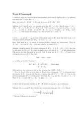 Homework 2 Solution Spring 2013 on Advanced Multivariable Calculus