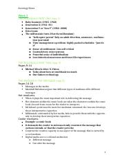 SOCY 122 Full Notes