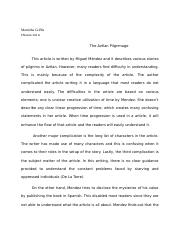 The Aztlan Pilgrimage article  review assigment.docx