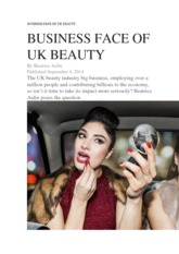 BUSINESS FACE OF UK BEAUTY