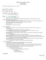 Marketing 301 Coupland Final Exam Study Guide2.doc