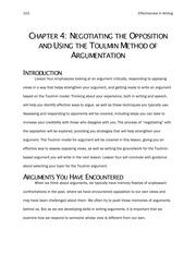 Engl 101 MLK argument analysis using toulmin PP Fall 2012
