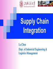 07. Supply chain integration