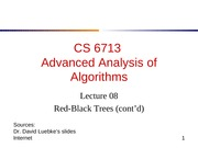 lecture08-RBTree