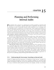 2-15_Planning and Performing Internal Audits