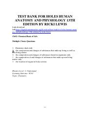 360552323-Holes-Human-Anatomy-and-Physiology-13th-Edition-by-Ricki-Lewis-Test-Bank.pdf