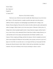 Catcher in the Rye reaction.docx