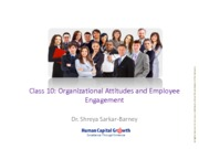 Class 8_Organizational Attitudes and employee engagement_ 2015