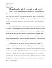 How leaders kill meaning at work.docx