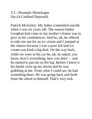 3.5 - Dramatic Monologue - Sin (A Cardinal Deposed).docx