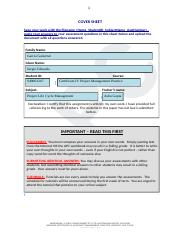 Sergio Garcia_S40061247_Project Life Cycle Management_Assessment 1_v2.2.docx