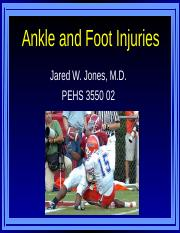Foot and Ankle HO.ppt