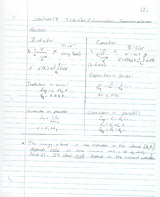 ECE 201 - Handnotes - Lecture 17 - Inductor and Capacitor Combinations - F11