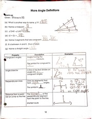 more angle definitions notes