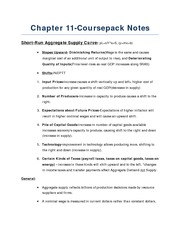CoursePack Notes
