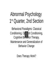 Second section. Behavioral Paradigms and Does Therapy Work with audio 8-25 (1).pptx