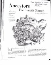 david suzuki ancestors the genetic source thesis You should consider a few instructions and useful tips when writing your rhetorical analysis thesis and social ancestors the genetic source david suzuki thesis.