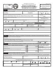 Fin105 Cmir 1 Pdf Fincen Form July 2017 105 To Be Filed With The