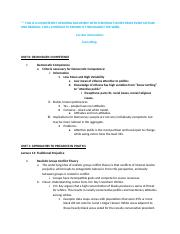 MOST Updated 151210 Political Psychology Final Exam Notes