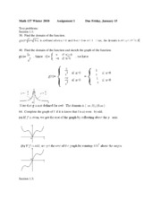 Math_137_Winter_2010_Solution_1