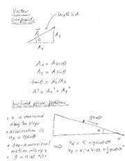 Ch03 vectors and inclined planes