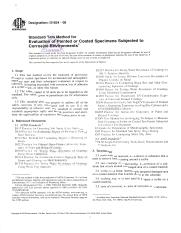 ASTM D1654-08 - Standard test method for evaluation of painted or coated specimens subjected to corr