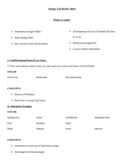 Alternative_Energy_Test_Review_Sheet