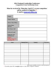 2014 NLC Competitive Event Verification Form.doc
