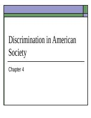 Discrimination in American Society (2) (5) (1) (1).ppt