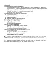 non profit test 1 study guide