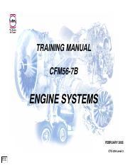 CFM 56-7B Basic Engine pdf - TRAINING MANUAL CFM56-7B BASIC ENGINE