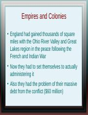 4 - Empires and Colonies