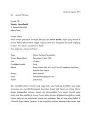 Surat Lamaran Rsm 2017 Docx Surat Lamaran Jakarta 23 Mei 2017 Yth
