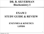 CHEM 1515 Exam 2 Review powerpoint